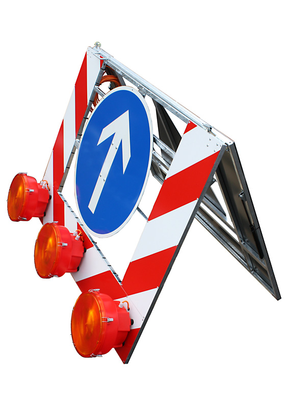 Do-It-Yourself sign superstructure type SM 10 (road sign Vz 615)